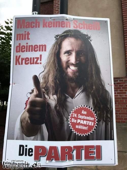 Die Partei - Wahlwerbung