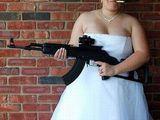Die Waffe der Braut