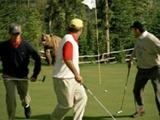 Gefährlicher Golfplatz