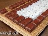 Schoko-Tastatur