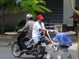 Schneller Kinderwagen