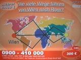 Wie viele Wege führen von Wien nach Rom?