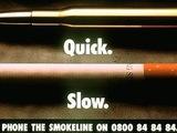 Raucher Werbung