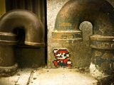 Mario aus dem Rohr