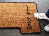 Fußmatte für Nerds