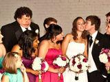 Schönes Hochzeitsfoto