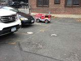 Feuerwehrauto parken