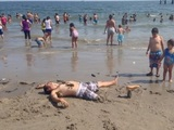 So viel Spaß am Strand