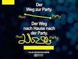 Der Weg von der Party