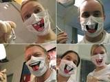 Fröhliche Zahnärzte