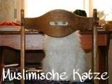 Muslimische Katze