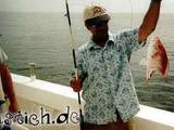 Fisch abgebissen
