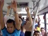 In brasilianischen Bussen