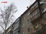 Mann springt aus 5. Stock