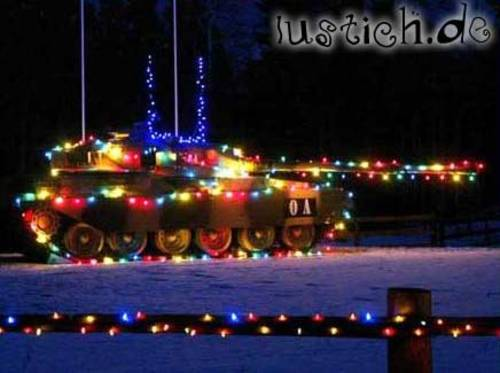 Weihnachtspanzer