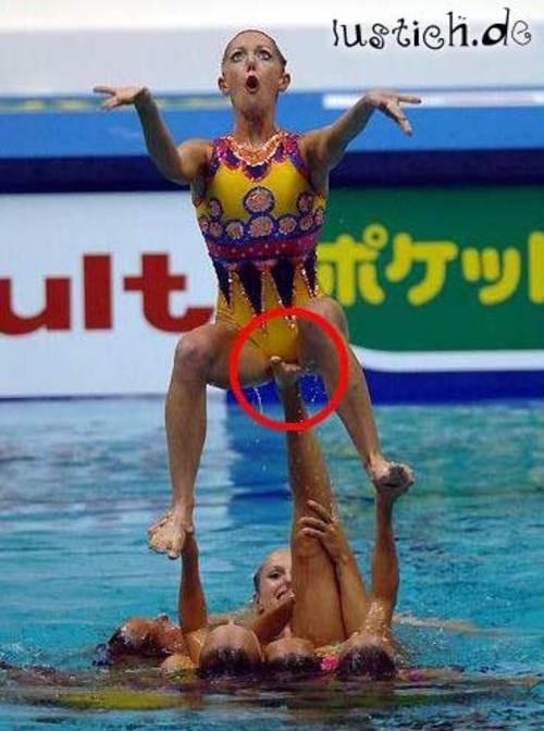 Frauen Wassersport