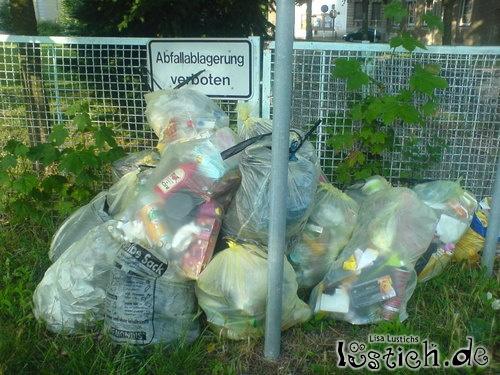 Abfallablagerung