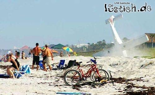 Strandlandung