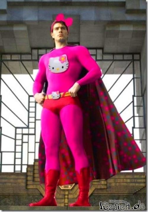 Superman im neuen Outfit