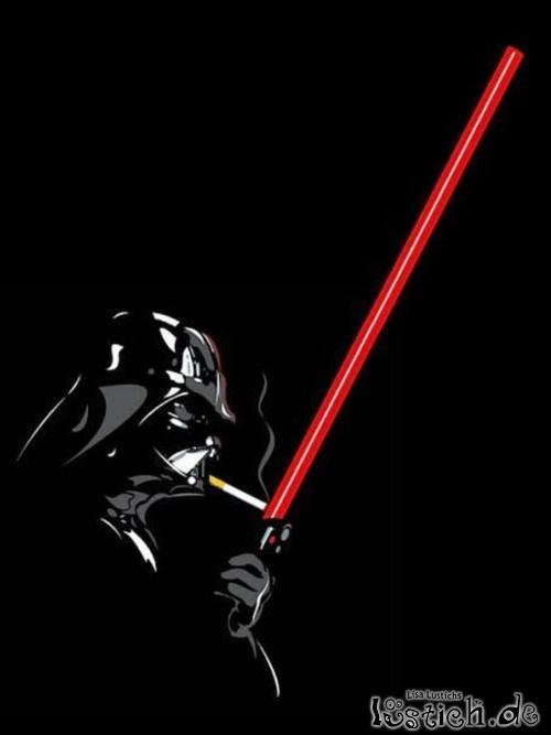 Smoking Darth Vader