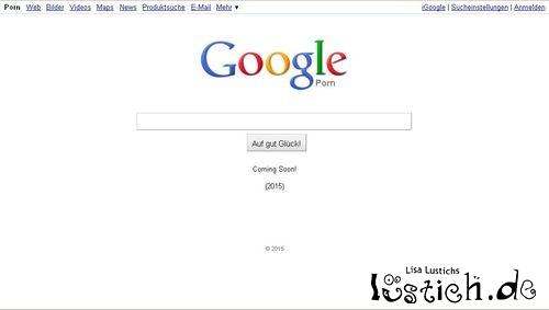Das neue Google: Google Porn