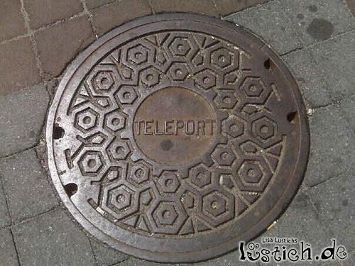 Teleportationsgully?