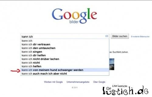 Schwangerschaftstest mit Google