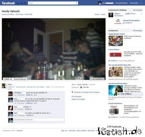 Schlüpferalarm bei Facebook