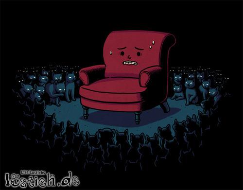 Die Sesselangst
