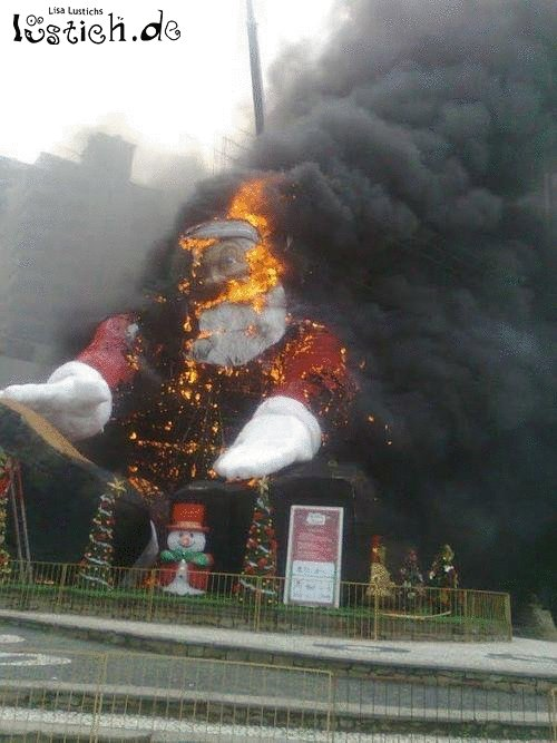 Heißer Weihnachtsmann
