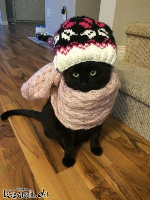 Es ist kalt!
