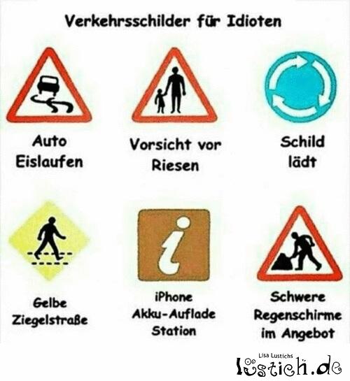 Verkehrsschilder erklärt