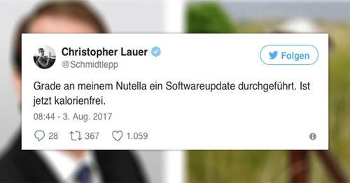 Nutella Softwareupdate (Abgasskandal)