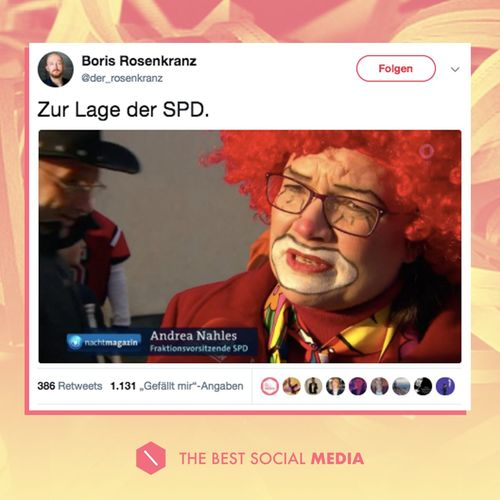 Lage der SPD