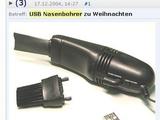 USB Nasenbohrer