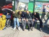 Schlafen bis der Bus kommt