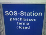 SOS Station geschlossen
