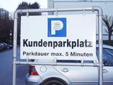 Parkplatz für die ganz Schnellen