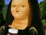 Nom Nom Mona Lisa