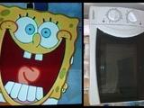 Spongebob-Mikrowelle