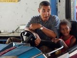 Obama im Autoscooter