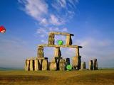 Stonehenge im Original