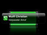 Wulff hat schon wieder angerufen