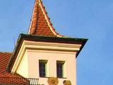 Grinsender Turm