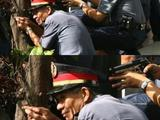 Asiatische Polizisten