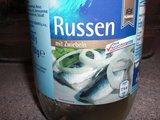 Russen mit Zwiebeln