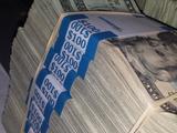Geldscheine bündeln