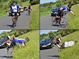 Freude des Fahrradfahrens