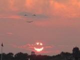 Lächelnder Himmel