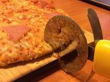 Scharfer Pizzaroller